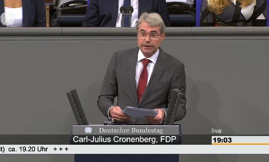 Rede im Bundestag: Brexit-Übergangsgesetz